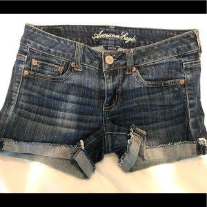 Cut Off Jean Shorts, Stretch